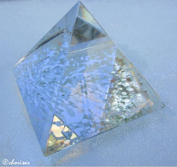 Le givre et la pyramide