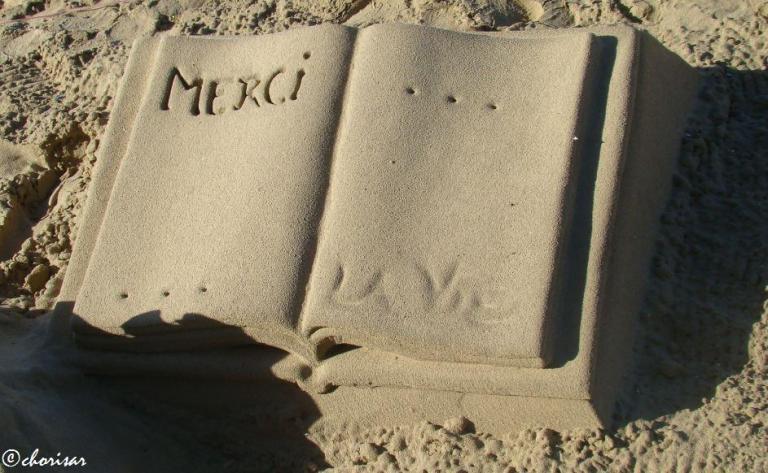 Page de sable